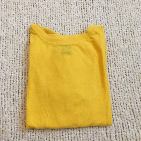 Tops - Yellow t-shirt